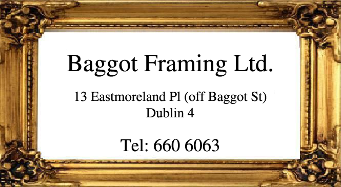 Baggot Framing Ltd | Dublin - Hand Made Picture Frames Dublin