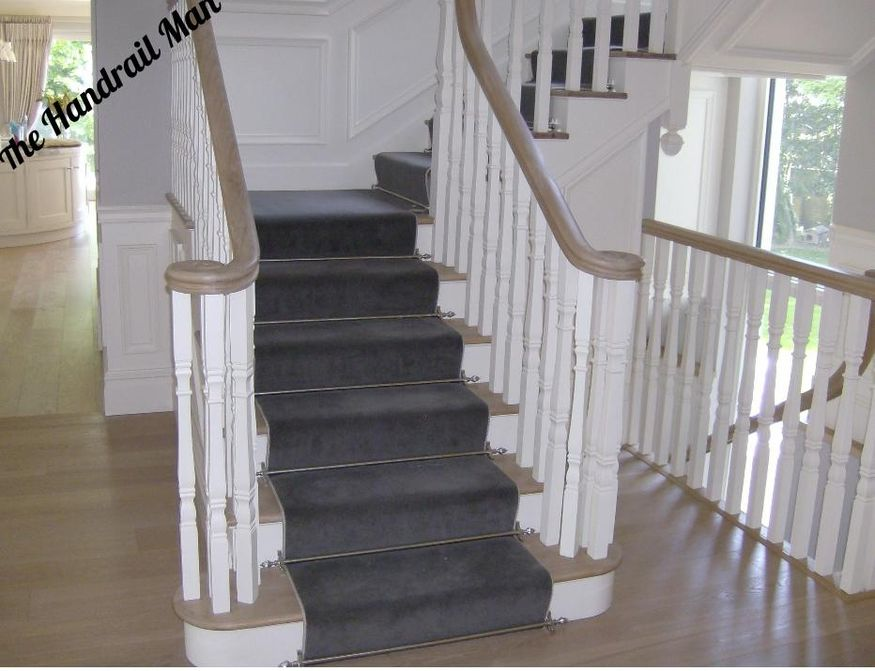 The Handrail Man Stairs.
