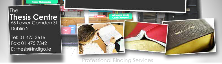 thesis printing dublin Snap provide a variety of marketing services including printing in ireland, graphic design, promotional products and web design in ireland get a quote.