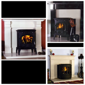 Logo: Antique Fireplaces & Stoves