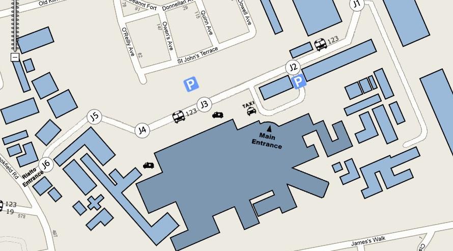 St Jamess Hospital dublin 8 general information for visitors Dublin