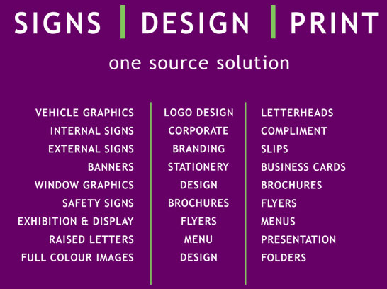 Vision sign design ballysimon road limerick vision sign visionsigns your one source solution reheart Image collections