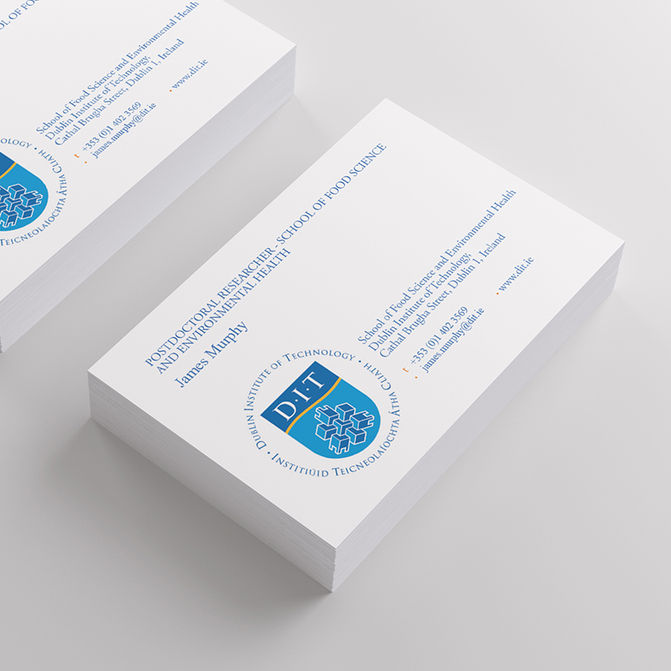 Printco business cards posters banners more ireland dublin business cards banners rigid signs reheart Image collections