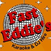 Logo: Fast Eddie's Karaoke & Disco Hire
